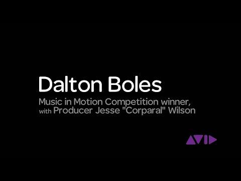 "Dalton Boles | Avid Music in Motion Contest winner with Jesse ""Corparal"" Wilson"
