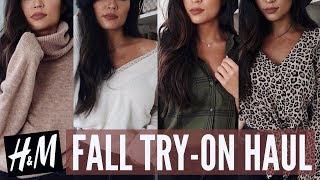 FALL TRY ON CLOTHING HAUL: H&M | Stephanie Ledda