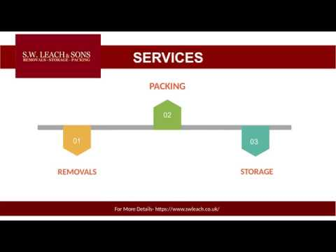 S W Leach & Sons - Removals, Storage & Packing Company