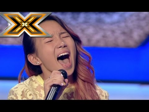 Michael Jackson' song «Who's loving you» sung by a 15 years old young girl. The X Factor - TOP 100