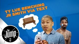 Tyronn Lue told JR Smith he was benched via text message   The Jump   ESPN