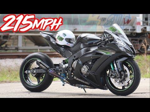 """Nitrous Kawasaki ZX-10R 215MPH Street Bike! - H2R & Hayabusa Slayer""""!"""