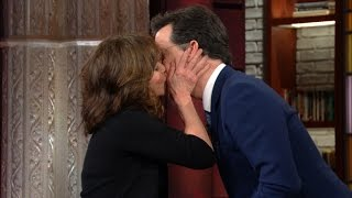 Sally Field Knows A Thing Or Two About Kissing