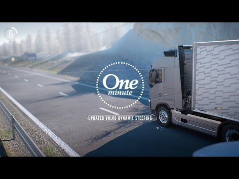 Volvo Trucks - One minute about updated Volvo Dynamic Steering
