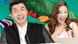 """The """"Crazy Rich Asians"""" Cast Finds Out Which Character From The Movie They Are"""