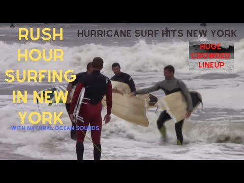 Surfing – Hurricane Hermine – Labor Day – Long Beach, New York