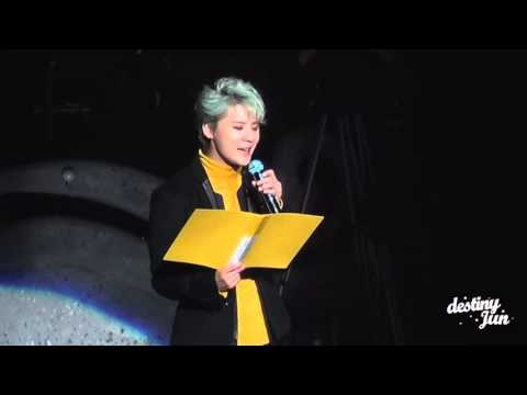 151230 XIA 준수 연말콘서트 지니타임 ~timeless~ XIA Ballad&Musical Concert with Orchestra vol.4 JUNSU