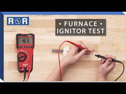 Honeywell # Q4100C9056 - Continuity Test (Gas Furnace Ignitor)