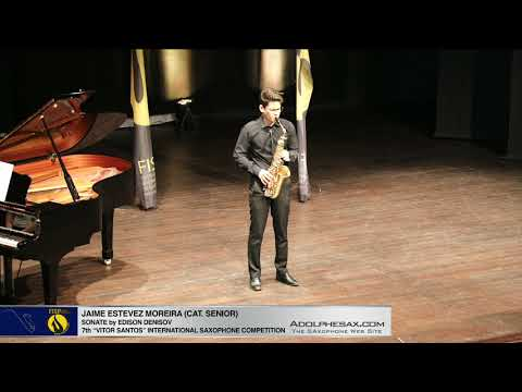 FIS Palmela 2019 Jaime Estevez Moreira Sonate by Edison Denisov