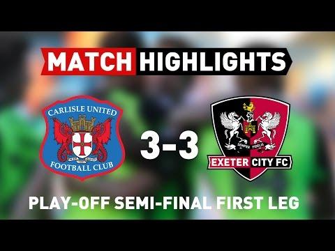 Carlisle United vs Exeter City