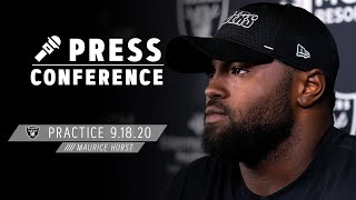 Maurice Hurst Knows Defensive Line Needs To Impact the Game vs. Saints | Las Vegas Raiders