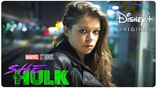 SHE-HULK Teaser (2022) With Tatiana Maslany & Mark Ruffalo