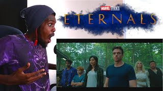 Eternals First Look | Marvel Studios Celebrates The Movies REACTION VIDEO!!!