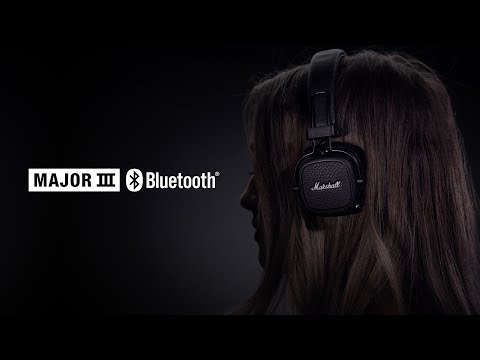 Marshall - Major III Bluetooth Headphones - Full Overview English