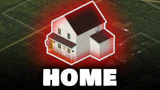 Can I Survive in a SINGLE HOUSE in Project Zomboid?