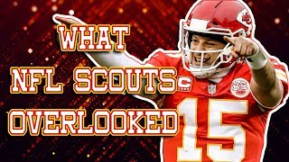 How the NFL Overlooked Patrick Mahomes Before His Incredible MVP Season