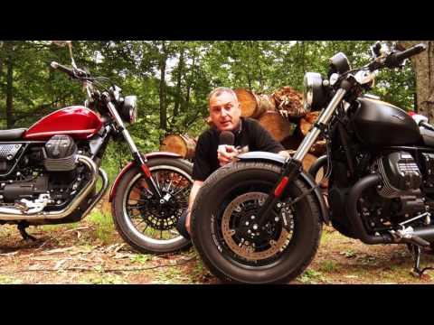 Motosx1000 : Test Guzzi V9 Roamer y V9 Bobber