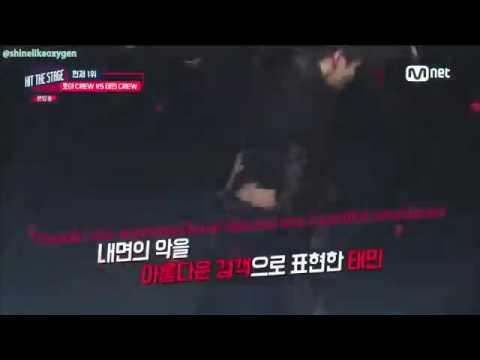 HIT THE STAGE - Taemin SHINee cut part 3/3 (engsub)