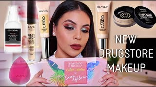 TESTING NEW DRUGSTORE MAKEUP 2019: FULL FACE OF FIRST IMPRESSIONS + WEAR TEST! | JuicyJas