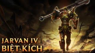Jarvan IV Biệt Kích - Commando Jarvan IV - Skins lol