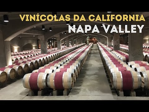 VINÍCOLAS DA CALIFÓRNIA (Parte 1) NAPA VALLEY | Opus One e Robert Mondavi