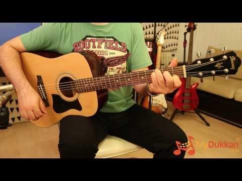 Ibanez Jampack V50NJP-NT Acoustic Guitar Starter Pack (Vintage Sunburst)