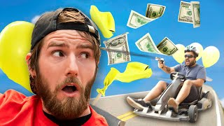 Mario Kart Balloon Battle, In Real Life!
