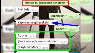 2018'in en korkunç Whatsapp konuşması ( Monica - Mark )