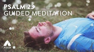 Sleep in Peace: Psalms 23 Guided Christian Meditation (4 hours)