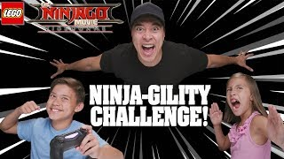 NINJA-GILITY CHALLENGE!!! LEGO Ninjago Movie Video Game!