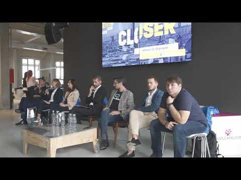 Chiara Sambaldi di Eurispes nel convegno sugli eSports alla Social Media Week di Milano