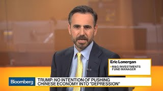 Trump Won't Cause a Depression in China, Says M&G's Lonergan