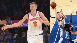 Kristaps Porzingis Career High 38 Points! Knicks 3 Game Win Streak! 2017-18 Season