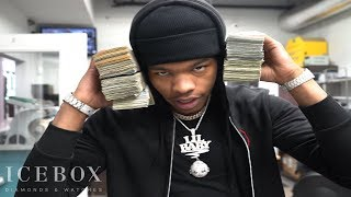 Lil Baby Drops $100K On a New Diamond Pendant From ICEBOX!!!