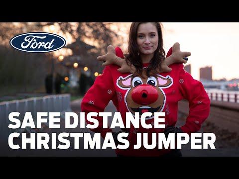 Ford's 'Safe Distance' Christmas Jumper