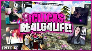 ASÍ JUEGAN LAS CHICAS DEL CLAN RE4LG4LIFE / FREE FIRE GIRLS / TORNEO /