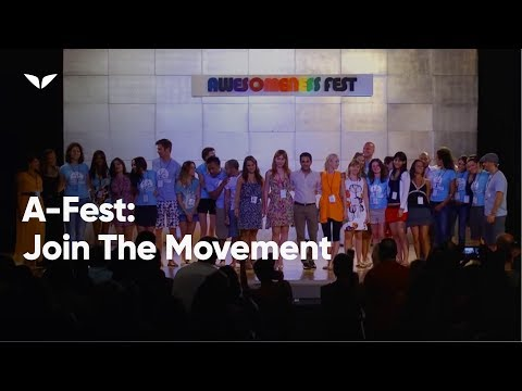 Awesomeness Fest: Join the Movement