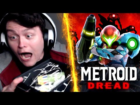 MY LIVE REACTION TO METROID DREAD! METROID 5 IS REAL, A NEW 2D METROID!   RogersBase E3 2021