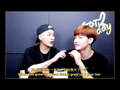 (RE-UP)[ENG/中字] Jackbum - The way JB domesticate Jackson
