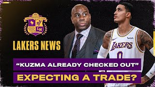 """Kyle Kuzma """"Already Checked Out"""" On Lakers, Trade Expected?"""