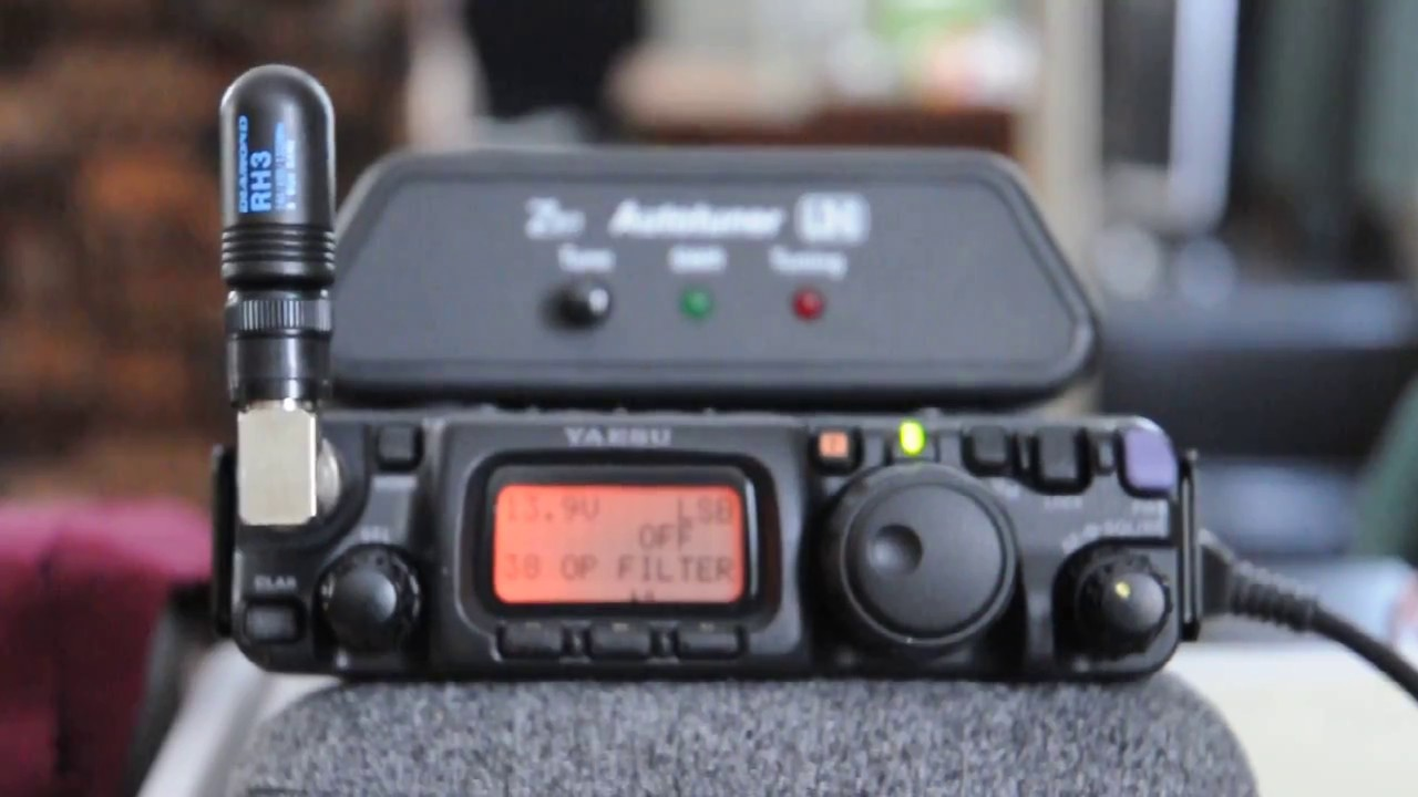 FT-817ND QRP QSO on 40m and 2 7khz Murata filter