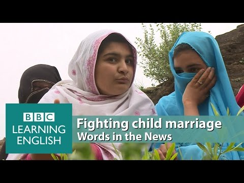 Fighting child marriage. Learn: a cause, neighbourhoods, to raise awareness, the norm, settling