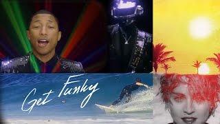 Robin Skouteris - Get Funky!  (Daft Punk + 13 artists DISCO MASHUP)