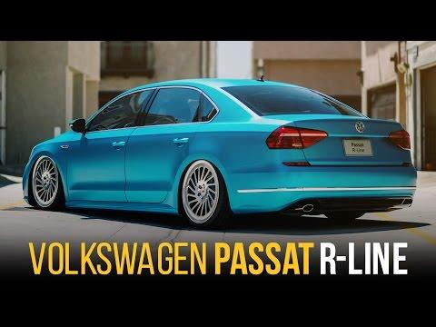 2016 Passat R-Line   VW of America   Vossen Forged   AccuAir