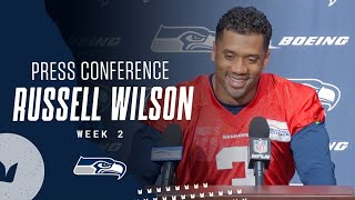 Russell Wilson Seahawks Wednesday Press Conference - September 16