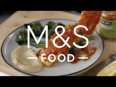marksandspencer.com & Marks and Spencer Promo Code video: 100% Scottish Salmon   Episode 3   Fresh Market Update   M&S FOOD