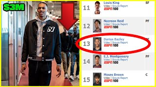 Did SKIPPING College For A NEW BALANCE Internship DESTROY Darius Bazley's NBA Draft Stock?