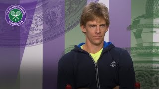 Kevin Anderson 'close to breaking point' during Semi Final