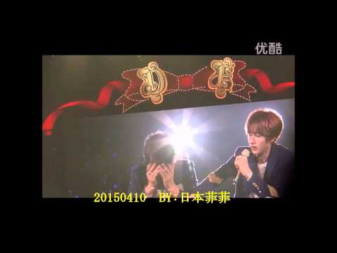 [ENG SUB] 150410 D&E in Osaka - Donghae drinks from a mic & Eunhyuk's lecture