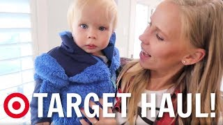Mom's home! Target fall clothing haul for Baby!